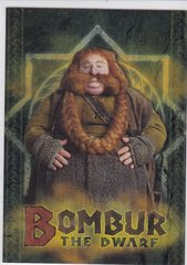 2014 Cryptozoic The Hobbit Foil Character Biography card CB-15 Bombur