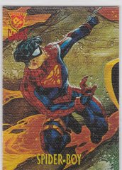 Amalgam Trading Cards Canvas Cards Insert 7 of 9 Spider-Boy