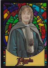 Lord Of The Rings Evolution Stained Glass Insert card S9 Pippen