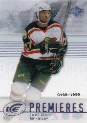 Joel Ward 2007-08 Ice Premieres Rookie card #119 #d 0489/1999
