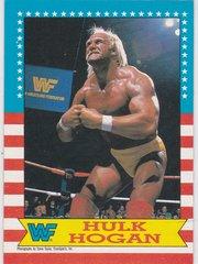 1987 O-Pee-Chee WWF Wrestling card # 3 Hulk Hogan