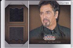 Al Pacino 2015 Americana Dual Worn Material card DM-AL #d 175/299