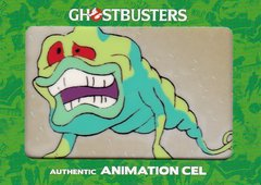 Ghostbusters Authentic Real Ghostbusters Animation Cel card 1/1 Slimer