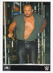 2015 Topps WWE Heritage NWO Tribute card # 37 of 40 Big Bubba Rogers