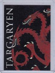 Game Of Thrones Season 2 Family Sigil Insert card H4 Targaryen
