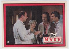 1982 Donruss Mash Trading Cards M*A*S*H