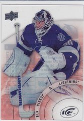 Ben Bishop 2014-15 Upper Deck Ice Hockey Goalies Short Print card #43