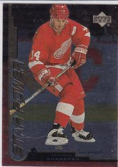 Brendan Shanahan 1999-2000 Upper Deck Gold Reserve Hockey Star Power card # 155