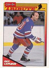 Guy Lafleur 1991-92 O-Pee-Chee card #2