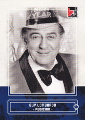 Guy Lombardo 2011 In The Game Canadiana base card #35 Blue parallel PR /50