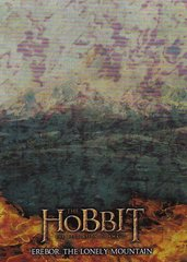The Hobbit The Desolation Of Smaug - Smaug Insert card S1