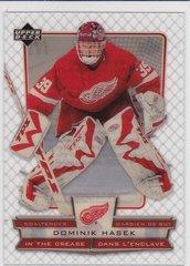 Dominik Hasek 2007-08 Upper Deck McDonald's Hockey In The Crease card #ICDH