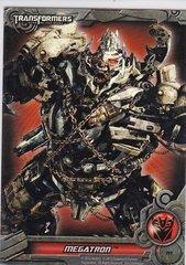 Transformers Optimum Collection Holographic Foil Puzzle Card PF7 Megatron