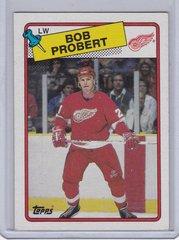 Bob Probert 1988-89 Topps Hockey Rookie card #181