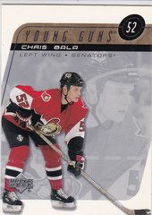 Chris Bala 2002-03 Upper Deck Hockey Young Guns card # 216