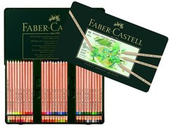 *SOLD*Faber-Castel FC112160 PITT Pastel Pencils In A Metal Tin (60 Pack)