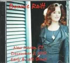 Bonnie Raitt Live - New Haven 1972 (2 CD's)