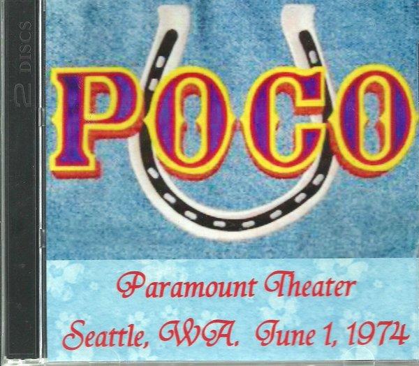 poco seattle wa paramount theater 1974 2 cd manassas31 retro cd 39 s. Black Bedroom Furniture Sets. Home Design Ideas