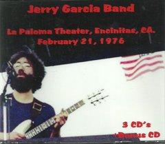 Jerry Garcia Band - Encinitas, CA. 1976 (3 CD's + Bonus Dead CD)