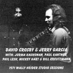 David Crosby & Jerry Garcia - Wally Heider Studio Sessions 1971 (2 CD's)