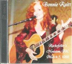 Bonnie Raitt Live - Houston 1988 (2 CD)