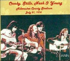 Crosby, Stills, Nash & Young - Milwaukee 1974 (3 CD's)