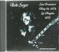 Bob Seger Live - BAM Archives 1974-1975 (CD)