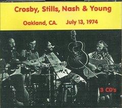 Crosby, Stills, Nash & Young - Oakland, CA. 1974 (3 CD's)