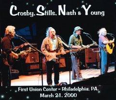 Crosby, Stills, Nash & Young - Philadelphia 2000 (3 CD's)