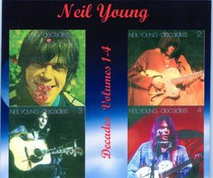 Neil Young - Decades Volumes 1-4, (4 CD's)