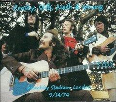 Crosby, Stills, Nash & Young - Wembley 1974 (3 CD)