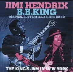 B.B. King & Jimi Hendrix - The King's Jam In NY. (2 CD's, SBD)
