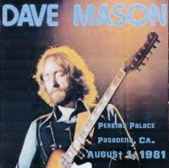 Dave Mason - Pasadena 1981 (CD, SBD)