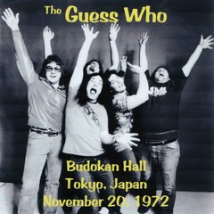 Guess Who - Budokan Hall, Tokyo 1972 (2 CD's, SBD)