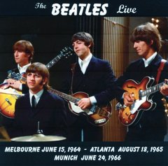 Beatles - Live In Melbourne 64', Atlanta 65' & Munich 66' (CD)