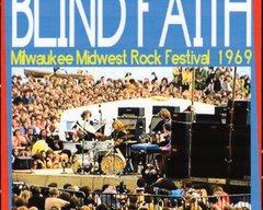 Blind Faith (Clapton, Winwood, Baker) Milwaukee 1969 (CD)