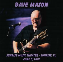 Dave Mason - Sunrise 2001 (CD)