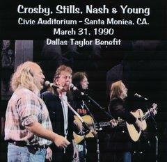 Crosby, Stills, Nash & Young - Santa Monica 1990 (2 CD's, SBD)