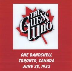 Guess Who (Bachman & Cummings) - Toronto 1983 (CD, SBD)