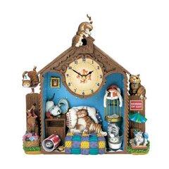 Comical Cats Collector Clock