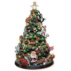 Comical Cats Christmas Tree