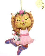 """Ballerina Kitty"" Comical Cats Ornament"
