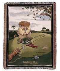 """Lining Up"" Tapestry Throw"