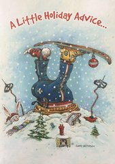 Face Plant Skier Christmas Cards