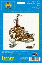 Fit To Be Tied Counted Cross Stitch Kit