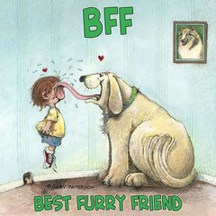 BFF Dog Magnet