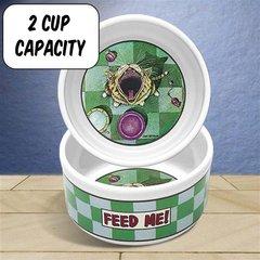 Feed Me (2) Stoneware Bowl