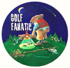 Golf Fanatic Absorbent Coaster Set