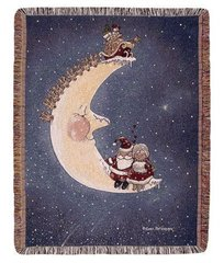 """Dreams & Wishes"" Christmas Tapestry Throw"