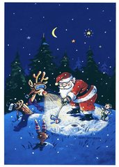 Moonlighting Christmas Cards